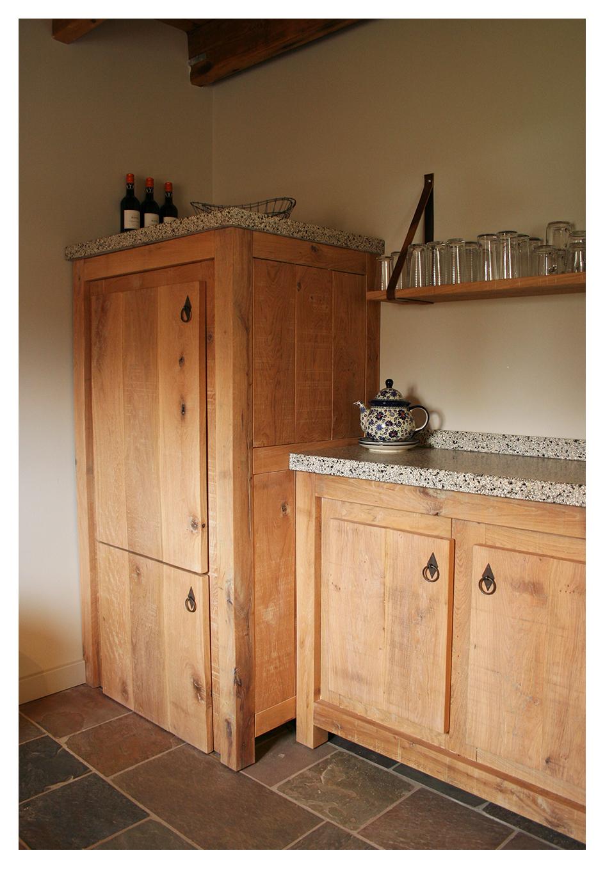 Www.houtsmederij.nl houten keuken op maat