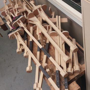 houten stelten op maat
