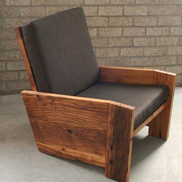 fauteuill oud eiken