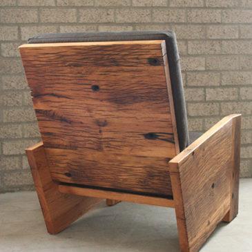 fauteuil oud eiken